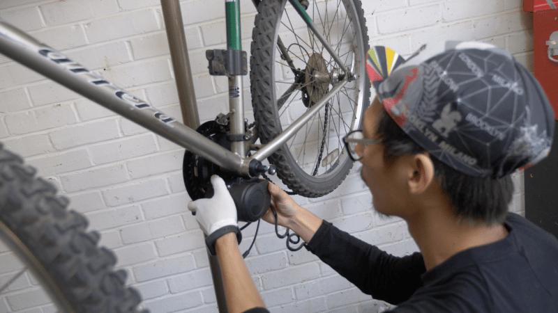 making of e-bike