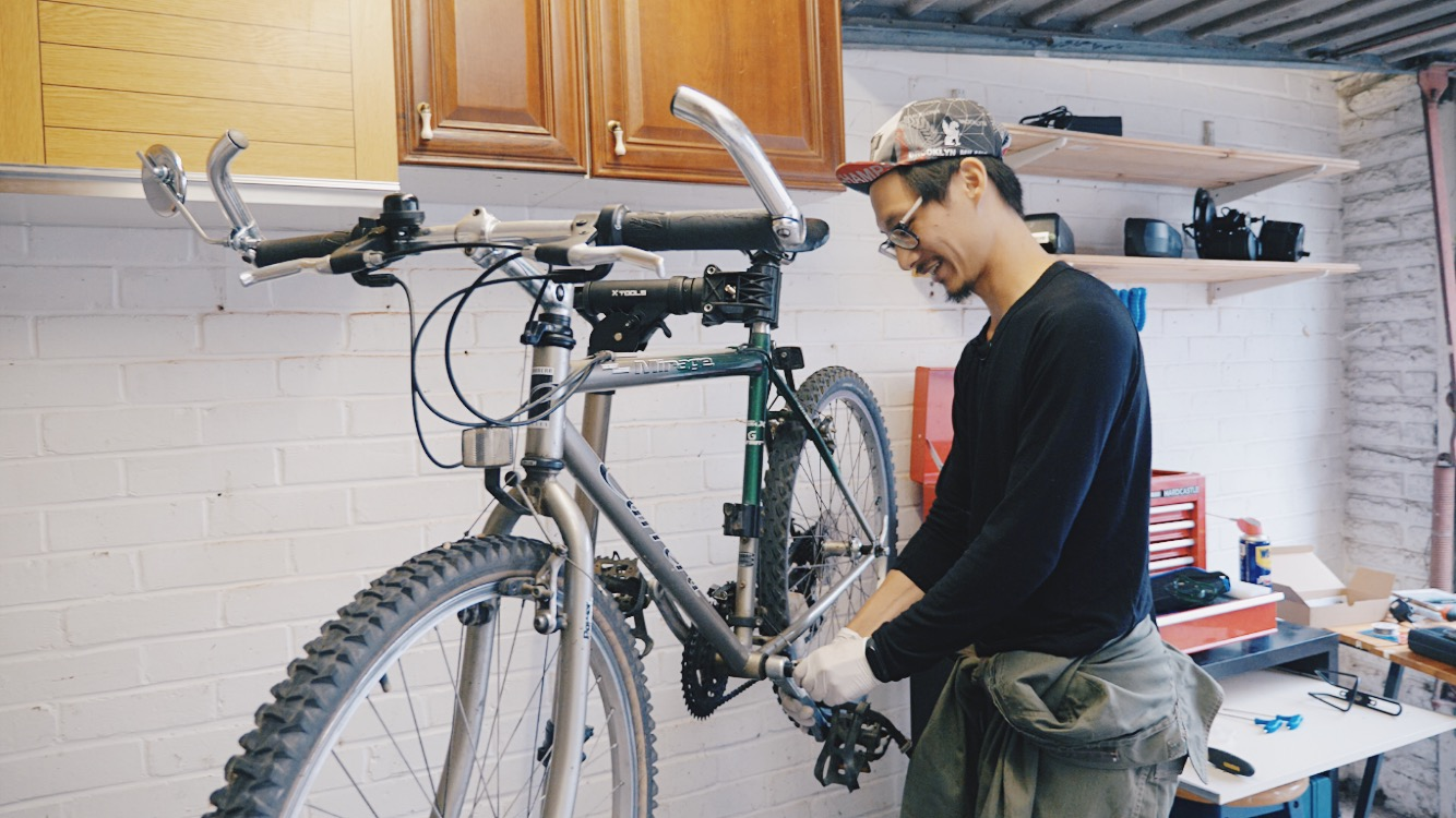 electronic bike making