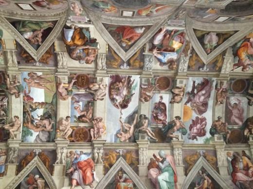 sixtinische Kapelle vatikanmusum Vatikan Skulptur kunst