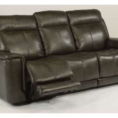 Beige And Brown Leather Sectional Sofa With Built In Footrests Collection Leeds Reclining Sofas Michigan 39s Best Be Seated