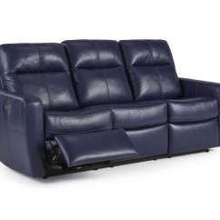 Reclining Sofa Leather Dog Cover Blue Pinterest Thesofa
