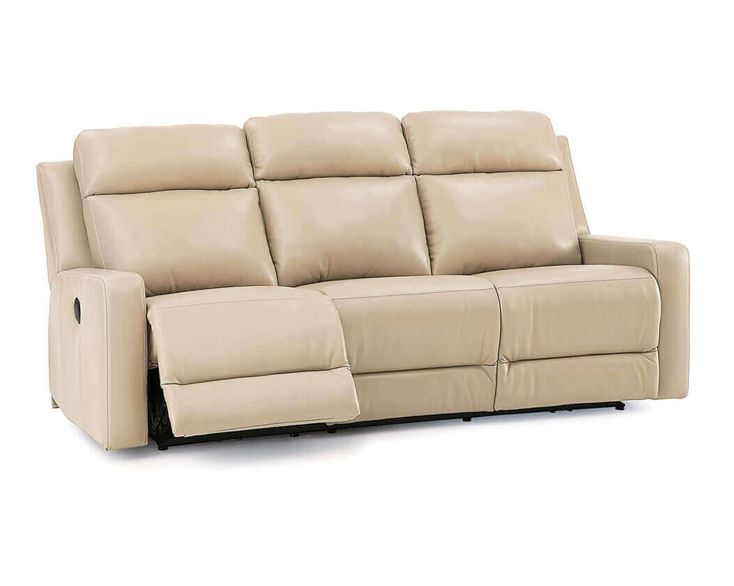 reclinable sectional sofas tufted sofa bed with track arms dual reclining leather gorgeous
