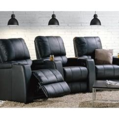Theater Chairs With Cup Holders Oak Ladder Back Dining Home Seating Be Seated Leather Furniture Michigan Black