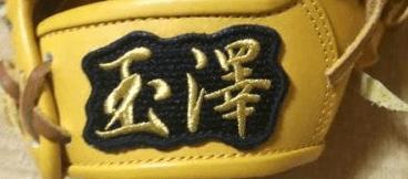 玉澤の硬式グラブ 特撰八番 い KANTAMA-T8I