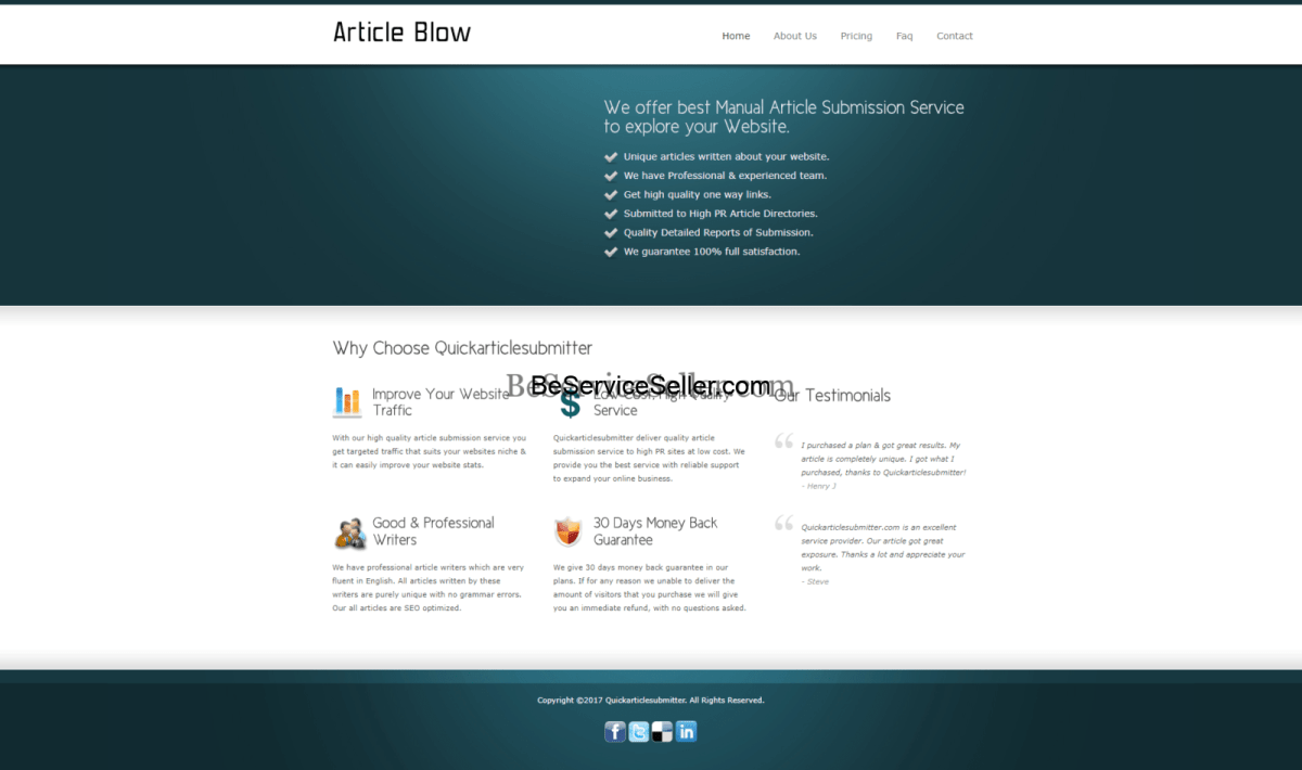 , Service Reseller Business Sites Demo(These Are Just A Few), Done-For-You Business, Done-For-You Business