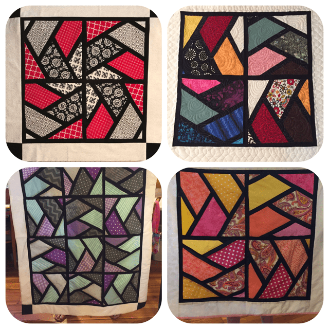 Quilted Stained Glass Window