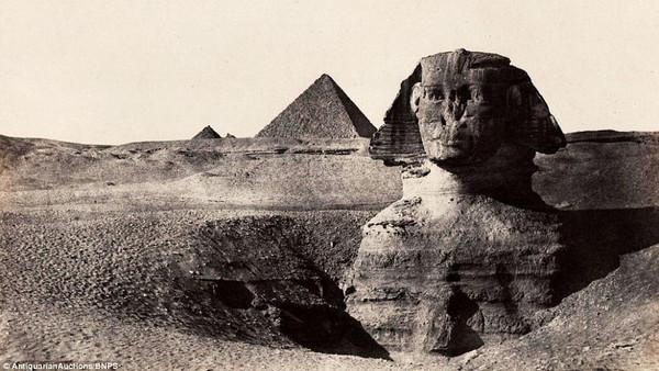 صور لآثار مصر قبل 170 سنة