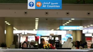 A local employee sits at the passport control at the newly opened Al-Maktoum International airport, the emirate's second airport in Dubai, on October 27, 2013. The new passenger terminal opened its doors for business following an official inauguration and welcome of the first commercial flight.    AFP PHOTO/MARWAN NAAMANI        (Photo credit should read MARWAN NAAMANI/AFP/Getty Images)