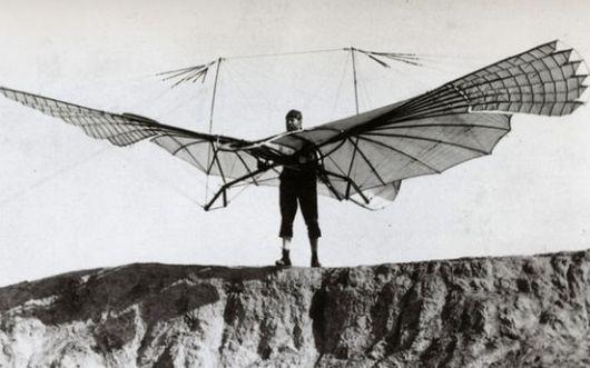 طائرة بشرية