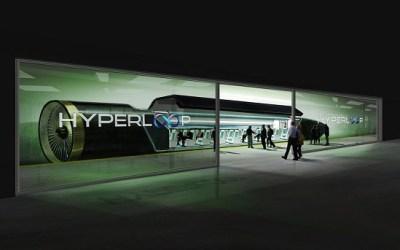 شاهد قطار Hyperloop الصاروخي 1100KM/H بين دبي والرياض 48 دقيقه ومن دبي الى مسقط 27 دقيقة
