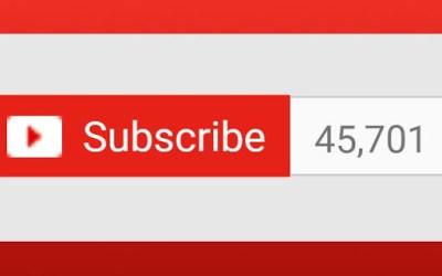 اليوتيوبر الذي حصل على 40 الف مشترك في اقل من 24 ساعة..