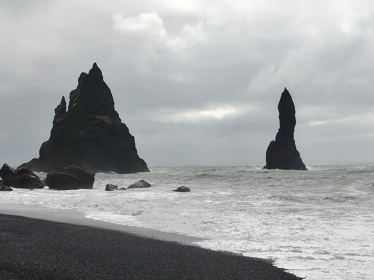Reynisfjara Black Sand Beach on Iceland