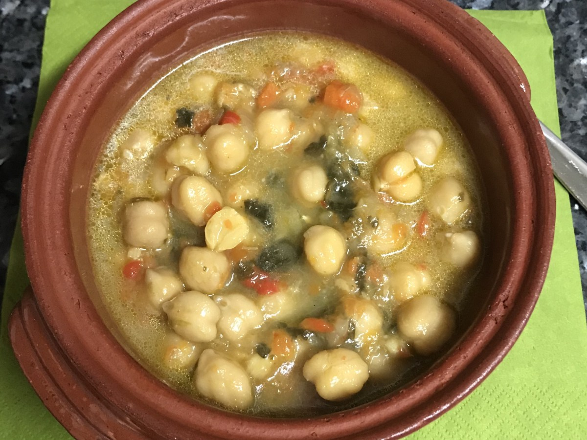 Potage de Garbanzos Besides the Obvious