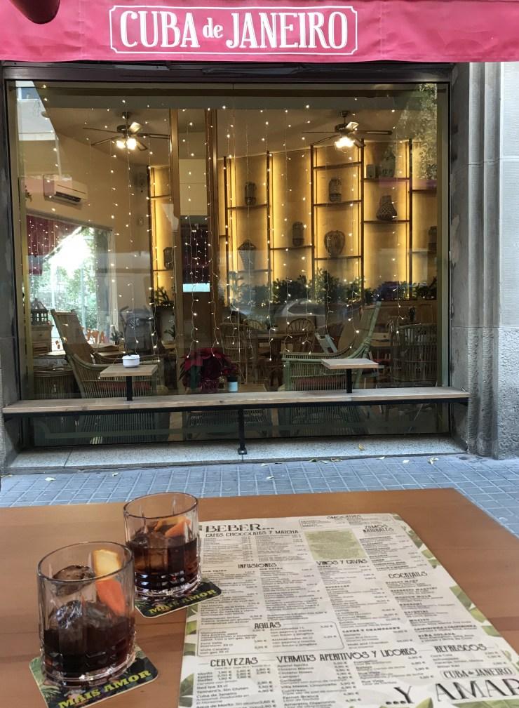 One of the best brunch places in Barcelona is Cuba de Janeiro