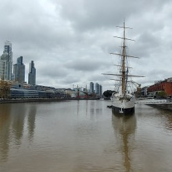 Buenos Aires, Argentina – September 11, 2019: Puerto Madero.