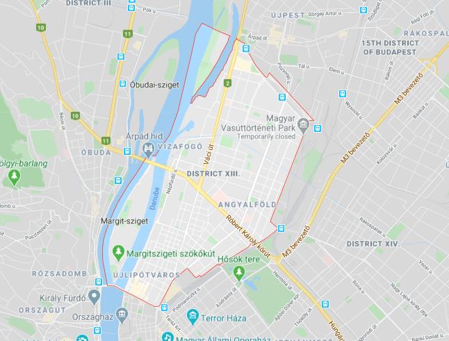 Budapest, District XIII.