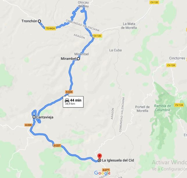 The Route of Aragonese Maestrazgo
