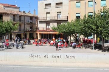 Plaça Catalunya, Horta de Sant Joan