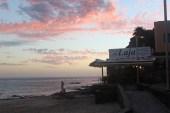 Morro Jable Beach at sunset