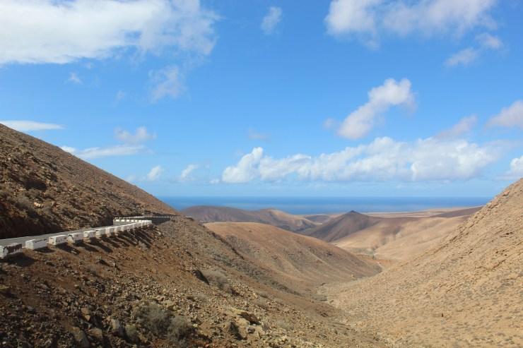 In between Pája and Betancuria on Fuerteventura Island, Spain