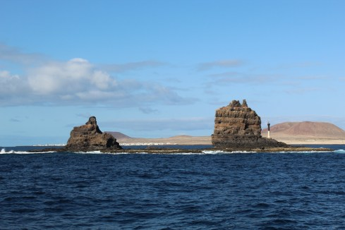 On the way to La Graciosa