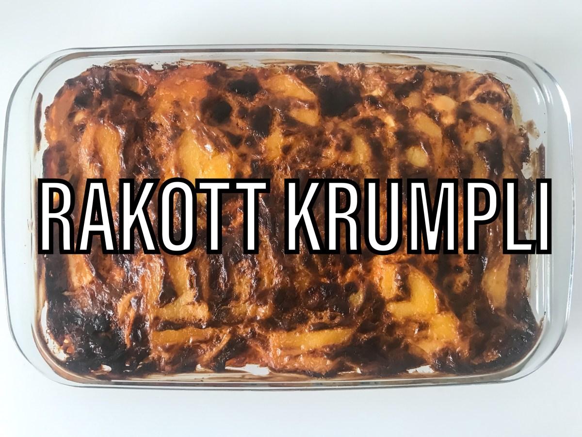 Rakott krumpli - Hungarian layered potatoes