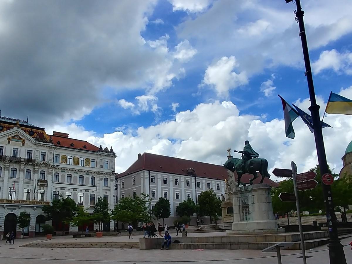 Széchenyi tér Pécs