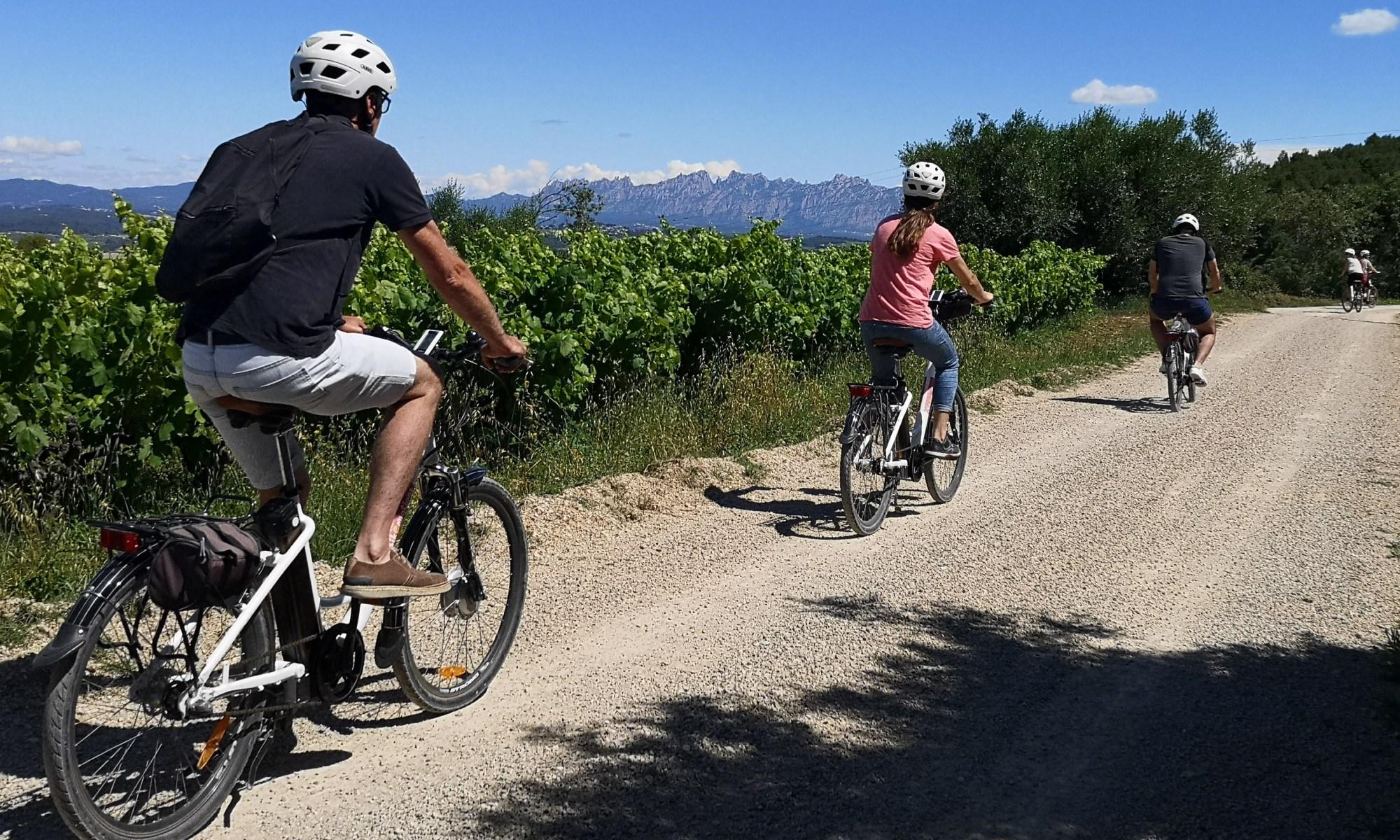 Bikemotions penedès en bicicleta