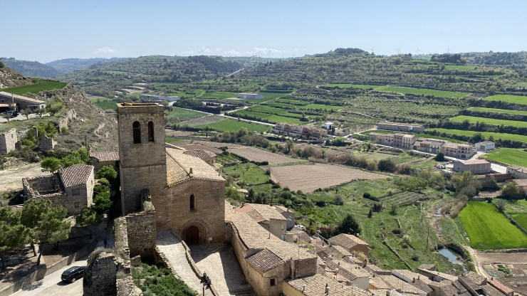 The castle of guimera