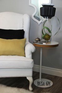 A Painted Wingback Chair | BESA GM