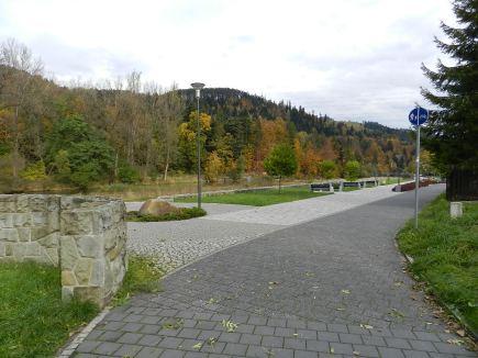 Promenada nad Sołą