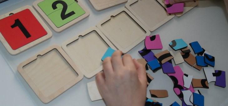 Čísla-puzzle