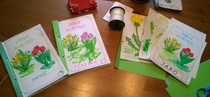 Jarní květiny – knížka