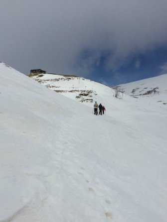 Snowshoeing on Mount Terminillo Lazio Italy // the smARTraveller blog