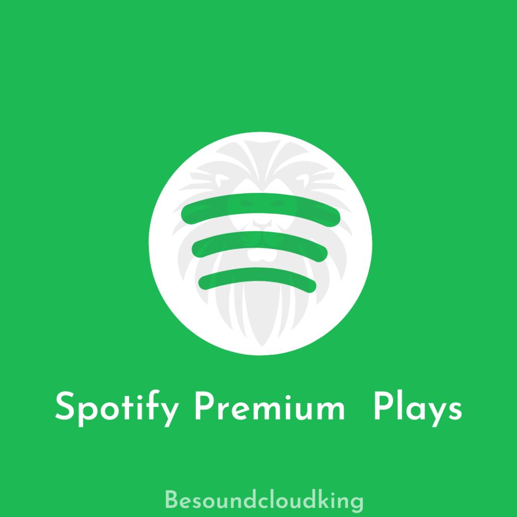 Spotify premium plays