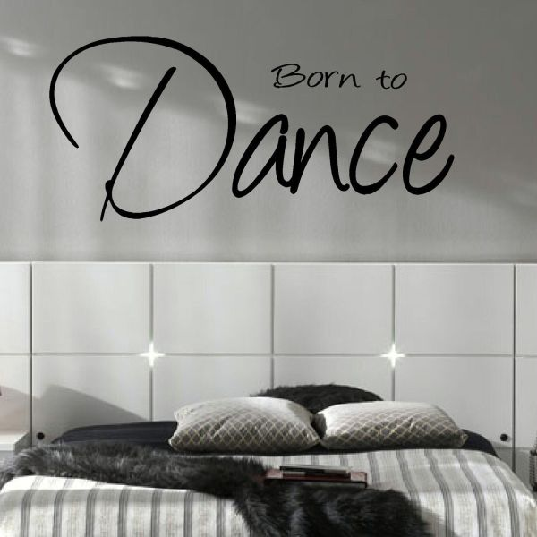 Dance Wall Art Stickers