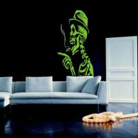 AMPHETANMEANIES LARGE BEDROOM WALL MURAL GIANT ART STICKER ...