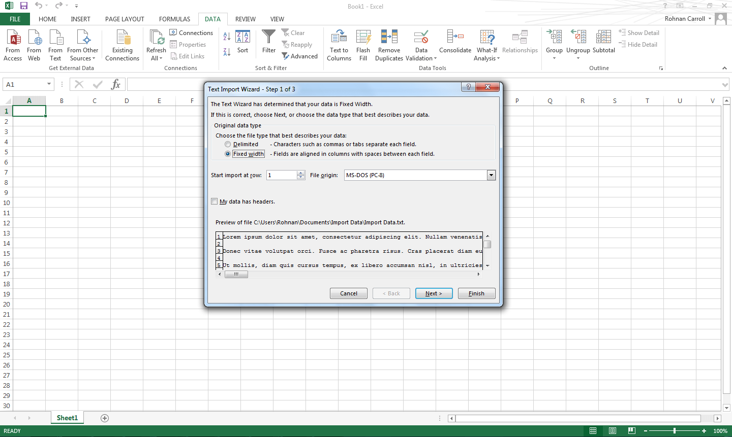 How To Import Data To Excel