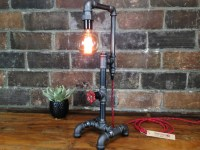 Industrial Pipe Lamp | BespokeBug