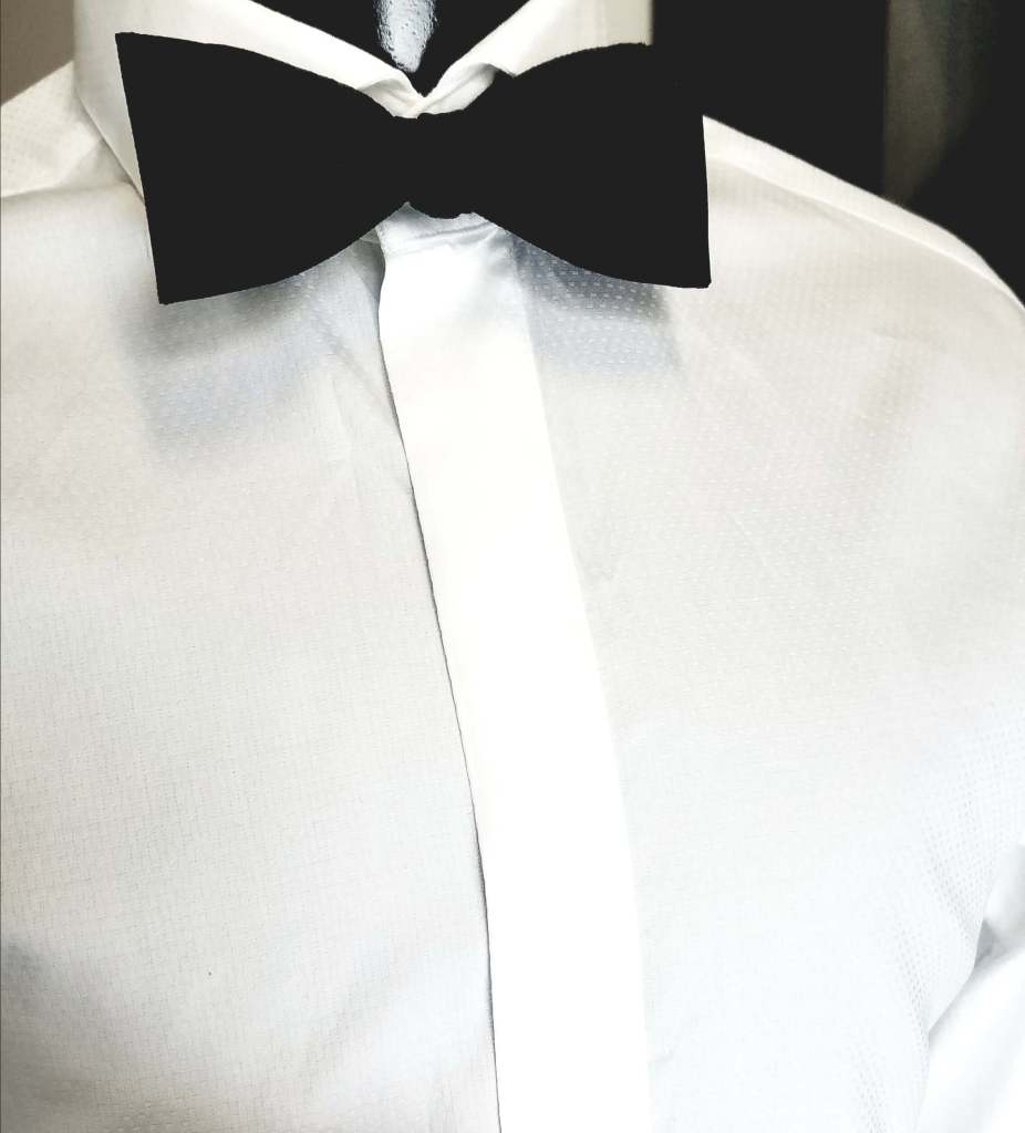 how to buy a tuxedo dress shirt with a fly front