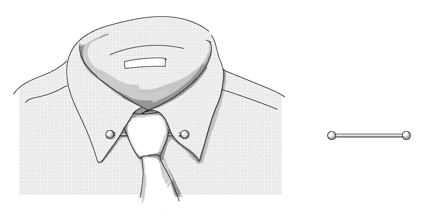 The complete guide to wearing a collar pin and how a collar bar ...