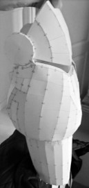 One of our builds in progress. Image copyright of Bespoke Fantasy Costumes, 2016.
