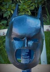 Batman foam build in progress. Copyright of Bespoke Fantasy Costumes 2016.