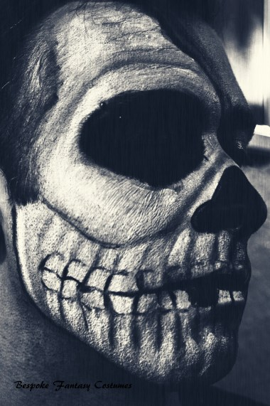'Skull in-depth' Skull special effects look. Make-up by Bespoke Fantasy Costumes. Photography and edit by Rose-Sky Journey Pieces. Copyright 2016.