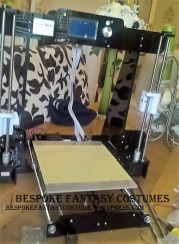 Our 3d printer being built ready for new products being built soon! Image by Bespoke Fantasy Costumes, 2016.