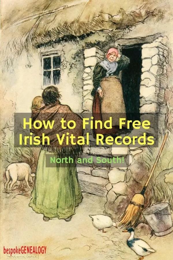 how_to_find_free_irish_records_bespoke_genealogy