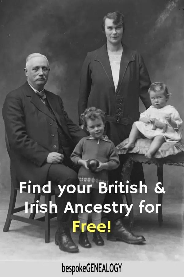 Trace your ancestors free uk