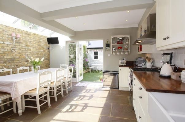 Terraced house kitchen extension ideas for Kitchen ideas glasgow