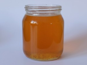 Honey after microwaving
