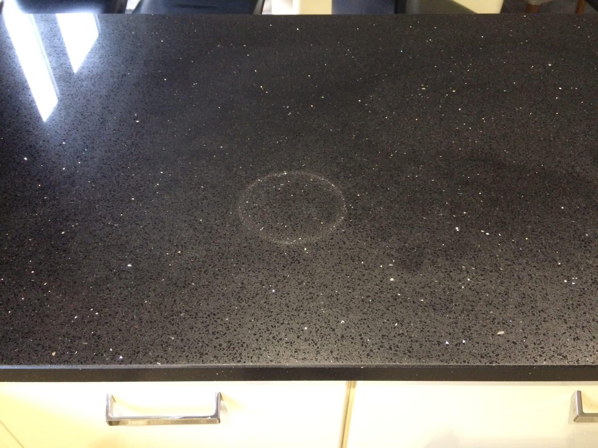 Bespoke Repairs Ltd  UK Stone  Glass repair  Heat stain
